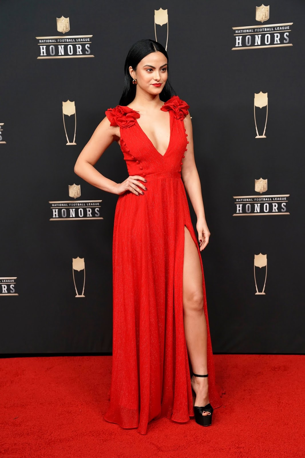 Camila Mendes - 8th Annual NFL Honors in Atlanta - 02/02/2019