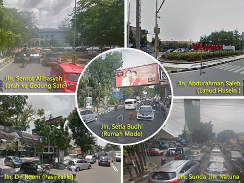 Rekayasa 5 Ruas Jalan Bandung
