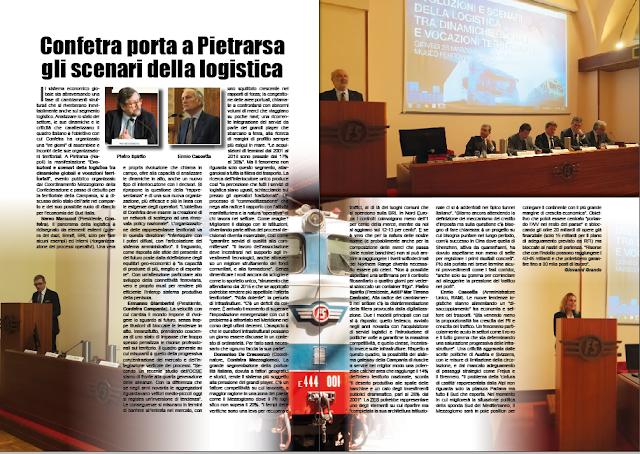 APRILE PAG. 16 - Confetra porta a Pietrarsa gli scenari della logistica