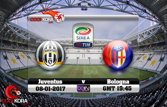 مشاهدة مباراة يوفنتوس وبولونيا اليوم 8-1-2017 في الدوري الإيطالي