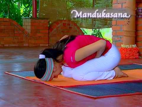 yogasana and your health mandukasana