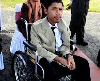 Disabilitas Bukan Halangan untuk Menuntut Ilmu