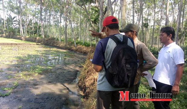 Zonasi kawasan situs biting yang dilakukan oleh BPCB Jatim