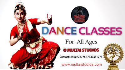 Dance classes in  Hyderabad