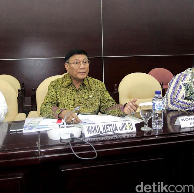 Anggota Ketangkap KPK, Pimpinan DPD Kumpul di Senayan