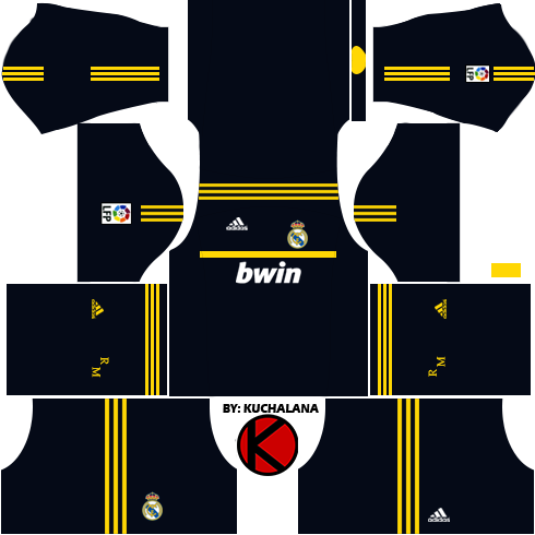 san francisco 145d6 06b4b Real Madrid Kits 2011/2012 - Dream League Soccer - Kuchalana