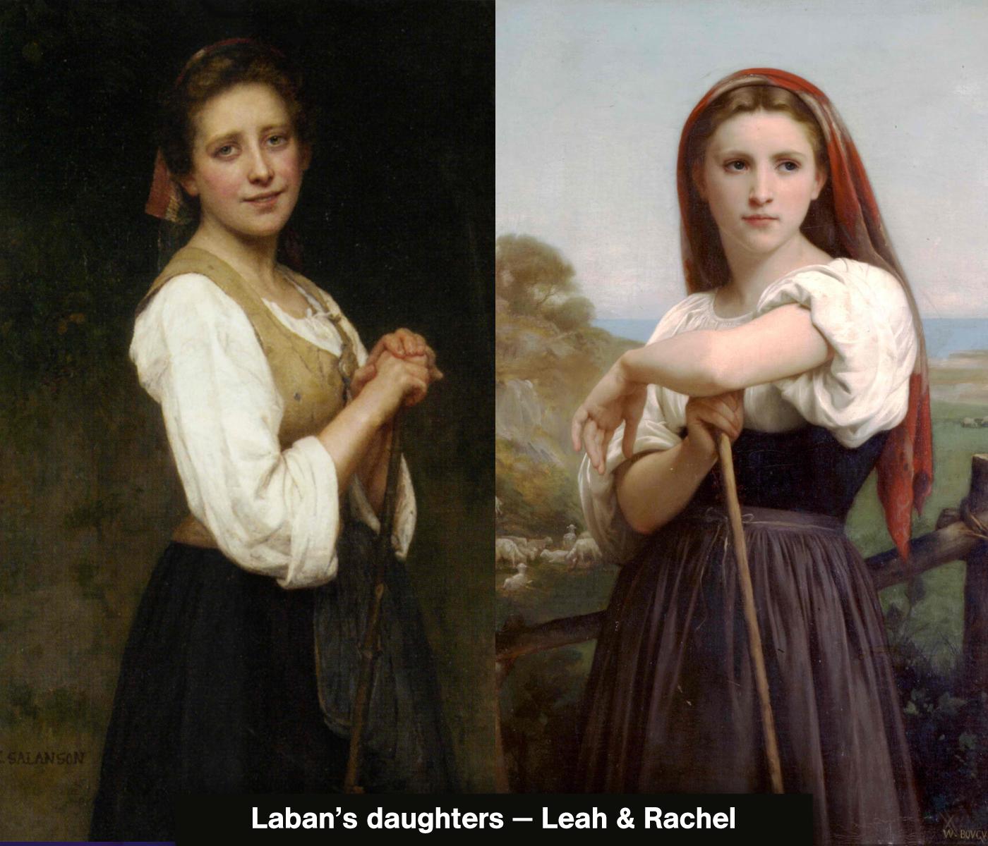 Leah And Rachel Bible Study
