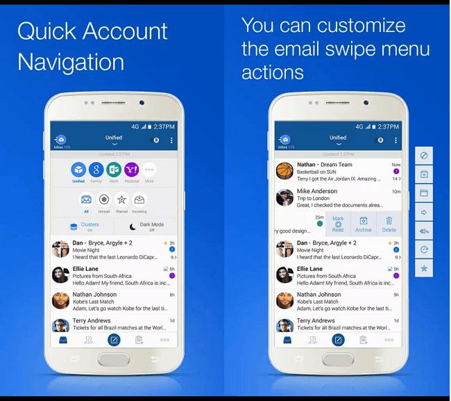 BlueMail Design