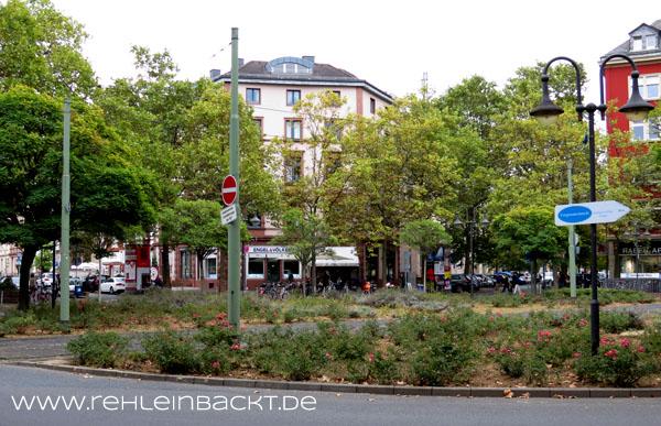 Schweizer Platz, Frankfurt-Sachsenhausen, Deutschland | Foodblog rehlein backt