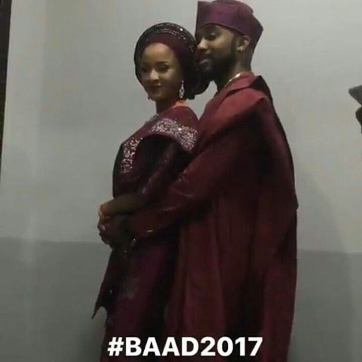 #BAAD2017: Adesua Etomi And Banky W Finally Got Married!