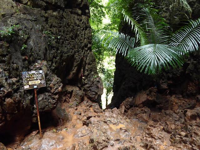 Hidden Lagoon - Phra Nang/Railay - último escalón antes de la laguna