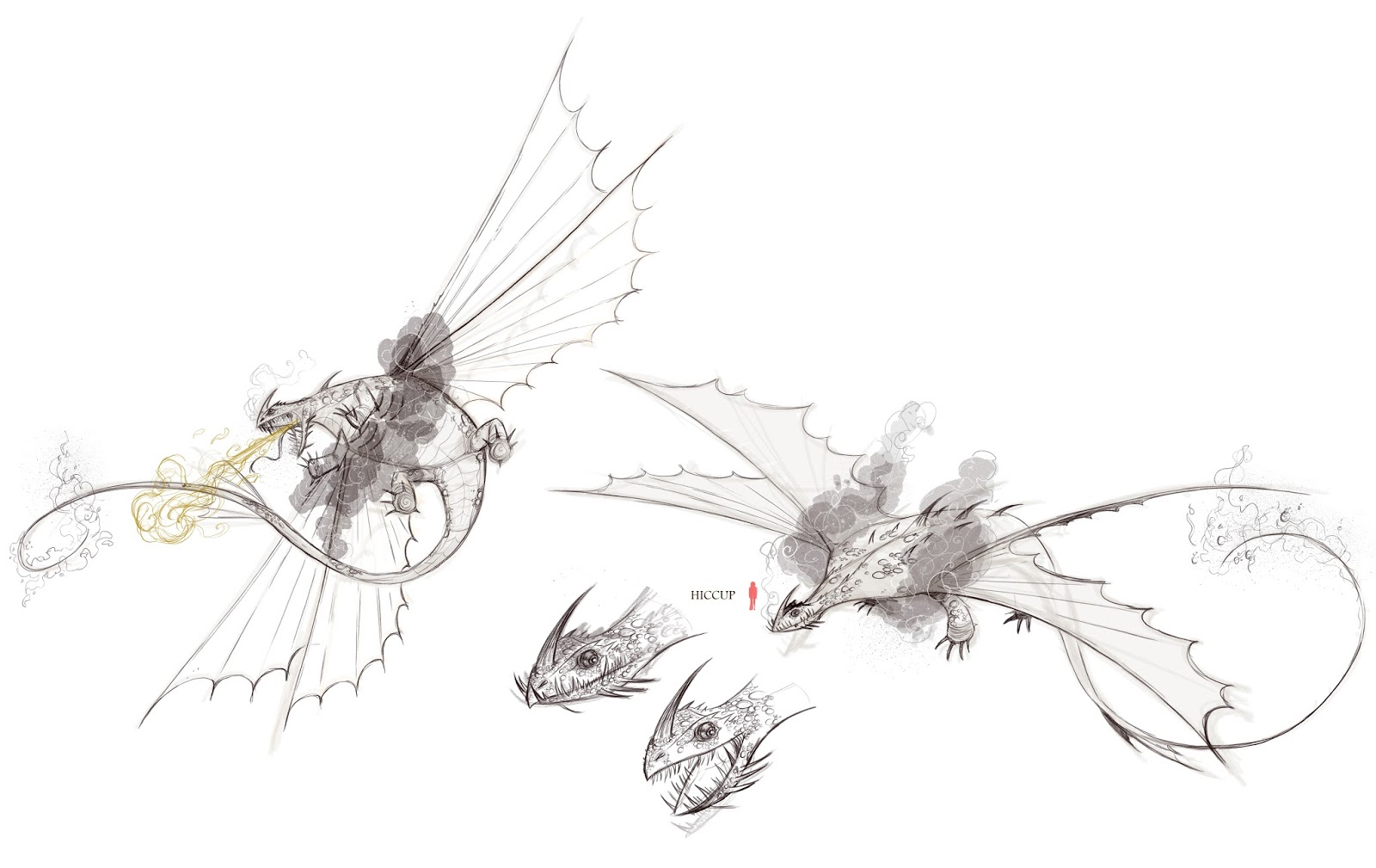 Singetail Images and Concept Art ~ Berk's Grapevine
