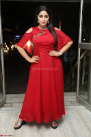 Poorna in Maroon Dress at Rakshasi movie Press meet Cute Pics ~  Exclusive 41.JPG