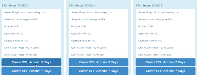 Open SSH, Singapore SSH, Sggs, Sgdo, Indonesia SSH, Japan SSH, Secure Shell Asia
