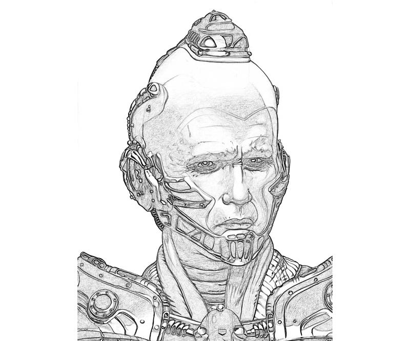 Mr Freeze Coloring Pages Free Coloring Pages