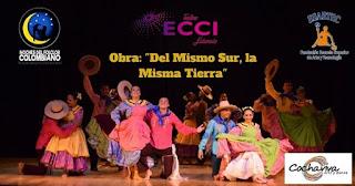 """DEL MISMO SUR LA MISMA TIERRA"" COCHAVIVA danza"