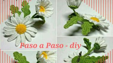 Girasol al Crochet - DIY