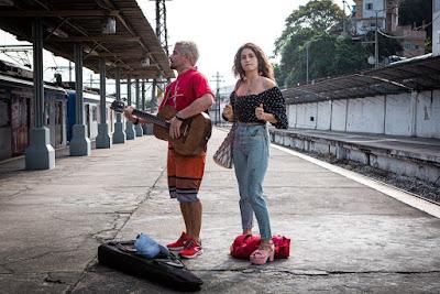 Thiago Martins e Nanda Costa juntos em 'Amor de Mãe': parceria dentro e fora de cena — Foto: Gabriel Nascimento/Gshow