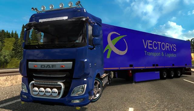 gambar truk trailer modifikasi ala eropa