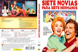 Siete novias para siete hermanos | 1954 | Seven Brides for Seven Brothers | Cover DvD | Caratula