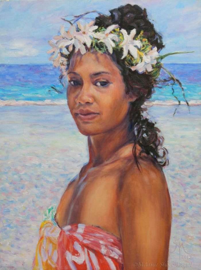 Французский художник. Melanie Dupre