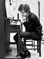 Dylan at the piano