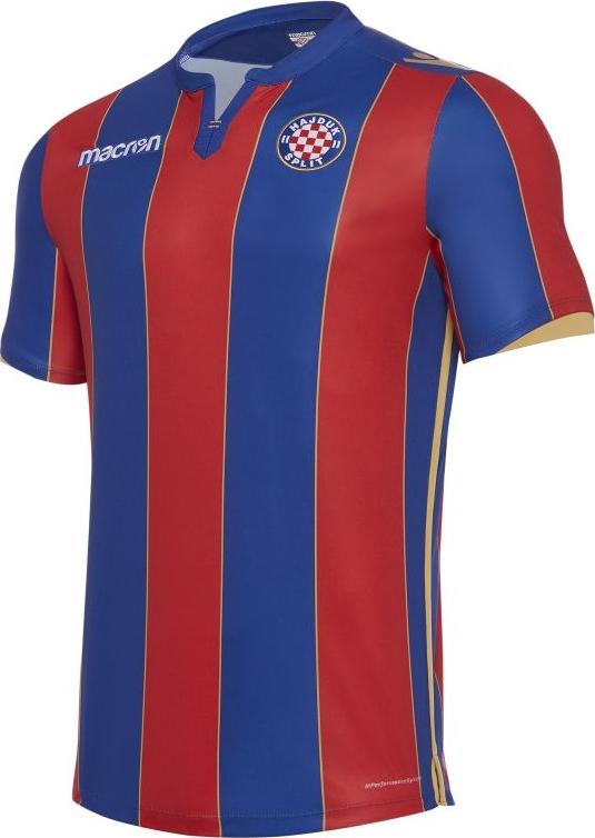 ca72698fc0 Macron lança a nova camisa reserva do Hajduk Split - Show de Camisas