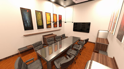Tesla Meeting Room