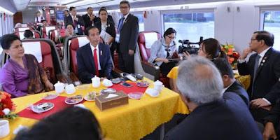 Jokowi Yakinkan Pengusaha China akan Kemudahan Berinvestasi di Indonesia