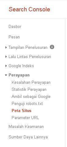 Cara membuat sitemap untuk Google