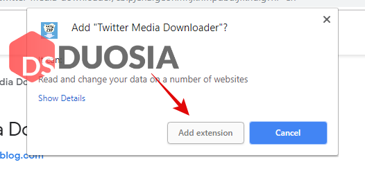 ekstensi untuk download video twitter