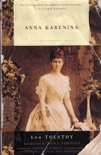 great books, Russian authors, great Russian novels, great novels, anna karenina