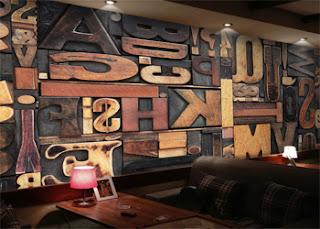 10+ Dekorasi dinding cafe kekinian dengan lukisan gambar yang keren dan sederhana