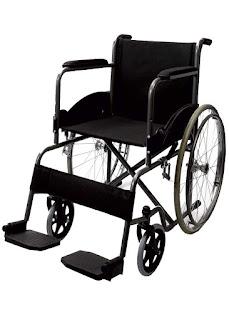 Black Magic Wheelchair With Spoke Wheel