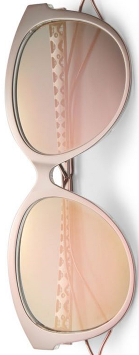 Dior Diorama 2 56MM Oval Sunglasses shown in Pink