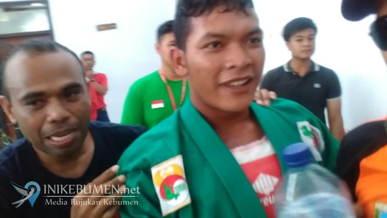 Yongmoodo Sumbang Emas Pertama untuk Kebumen di Porprov Jateng