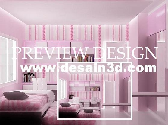 Kami Adalah Penyedia Jasa Interior Desain Secara Online Untuk Design Bedroom Kamar Tidur Cantik Anak Perempuan Minimalis Kita Sudah Sering Membuat