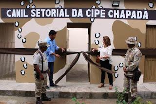 Cipe Chapada inaugura canil