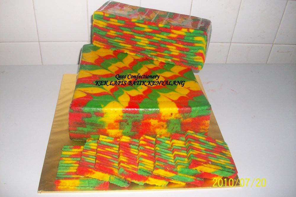 Blueberry Cake Recipe Kenya: JM0578912-M: Kek Lapis Batik Kenyalang