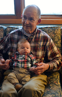 Cute Baby Outfit Great Grandpa and Grandson- What we have learned about dressing your baby