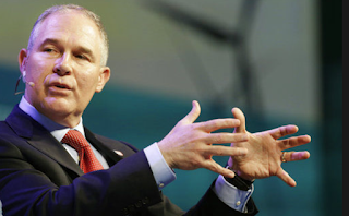 On Climate Change, Pruitt Causes An Uproar, Contradicts The EPA's Own Website