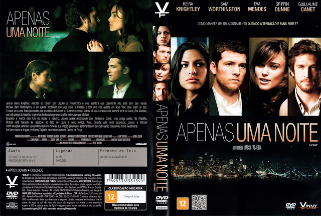Capa DVD Apenas uma Noite