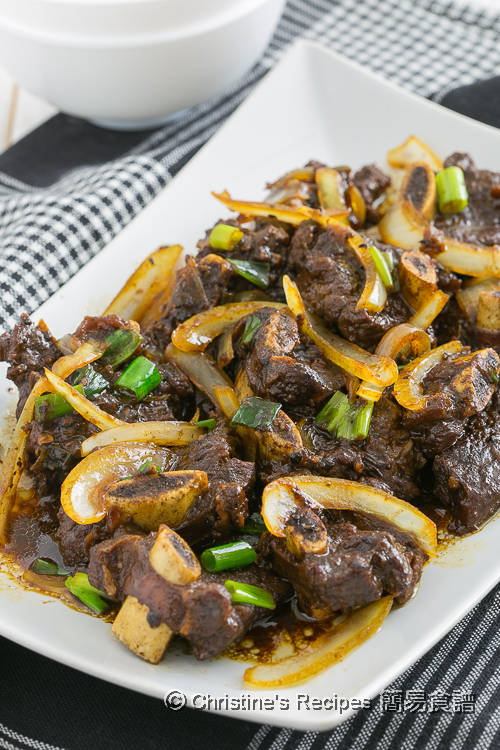 黑辣炆牛仔骨【Instant Pot 壓力煲食譜】 Beef Rib in Black Pepper Sauce