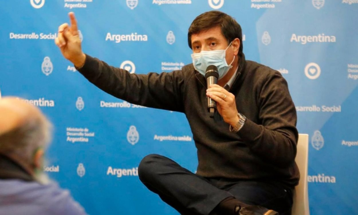 Daniel Arroyo, ministro de Desarrollo Social