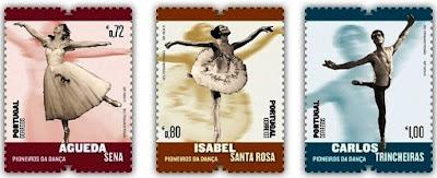 Resultado de imagem para SELO DO Dia Internacional da Dança