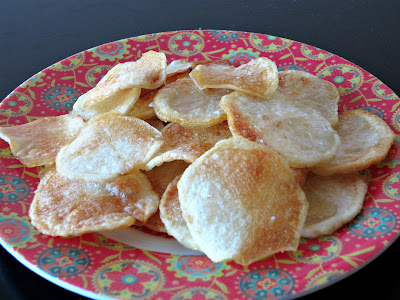 Homemade Baked Potato Chips Love To Be In The Kitchen