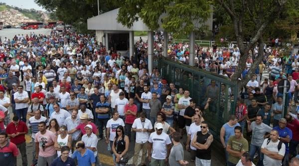 Mayor sindicato de Brasil inicia huelga por recorte salarial