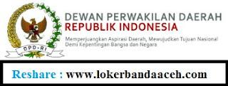 Penerimaan Tenaga Kontrak DPD RI Tahun 2017