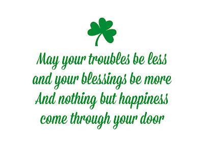 Happy St Patrick's day 2018 phrases