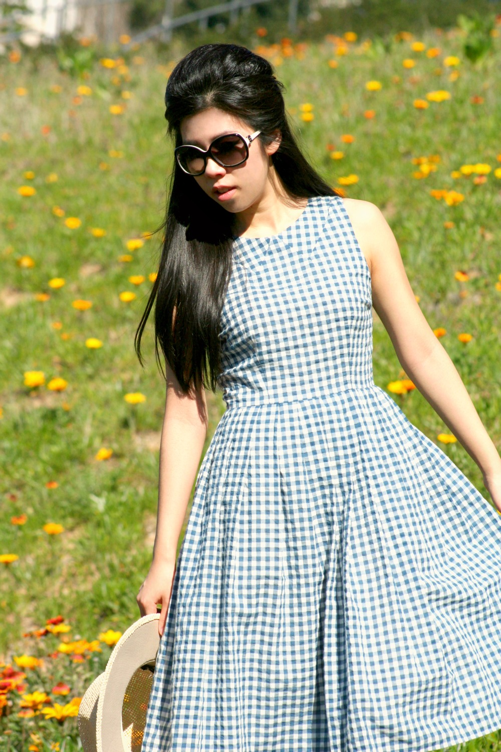 What to Wear to a Tea Party_Spring Fashion Trends_Gingham Dresses_Adrienne Nguyen_Invictus